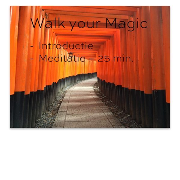 walk your magic online meditaties doen